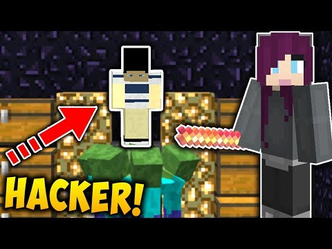 A HACKER'S WORST NIGHTMARE! | Catching Hackers #1 (Minecraft Trolling)