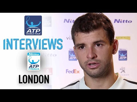 Dimitrov Discusses Debut Victory Over Thiem Nitto ATP Finals 2017