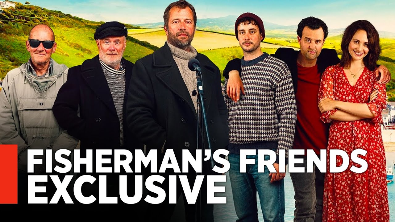 Fisherman S Friends Preview Turns An Old Sea Shanty Into A Rousing Sing Along Exclusive