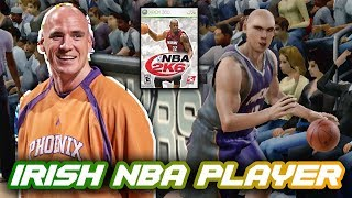USING THE ONLY IRISH PLAYER IN NBA HISTORY!! | THROWBACK NBA 2K6 XBOX 360 GAMEPLAY!!
