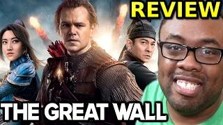 THE GREAT WALL MOVIE REVIEW - Matt Damon Saves China #TheGreatWall