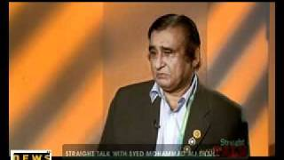 Straight Talk with Syed Mohammad Ali Shah Part 2