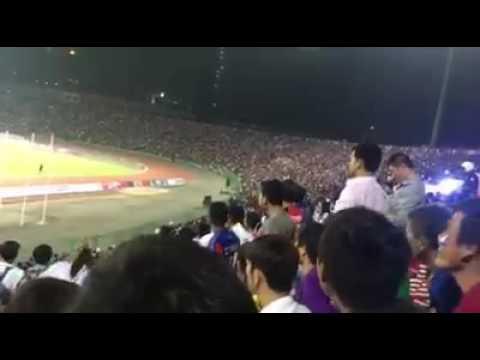 Khmer Football In Oylampic Stadium