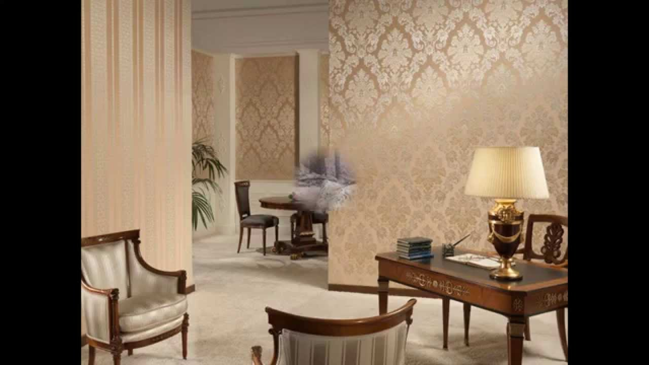 Best wallpaper for the living room youtube Wallpaper ideas for small living room