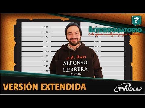Alfonso Herrera nos cuenta que nunca se imagino que se dedicaría a la actuación en El Interrogatorio