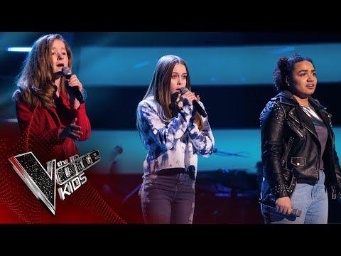 Juno, Hayley, Erin L - 'Eyes Shut': Battles | The Voice Kids UK 2017