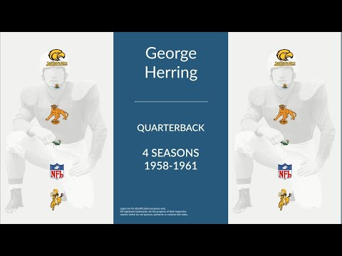 George Herring: Football Quarterback and Punter