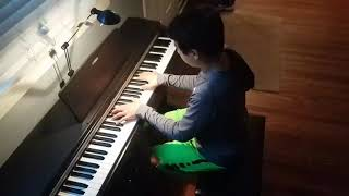 """""""Pop Out"""" on piano by Polo G and Lil TJay"""