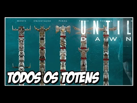 Until Dawn - Todos os Totens!! Todas as Premonições [Spoiler]
