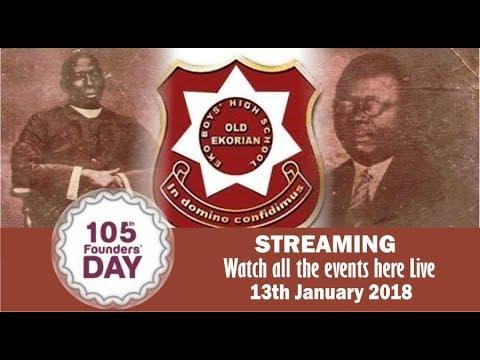 Eko Boys High School 105th Founders Day Events (Dinner)