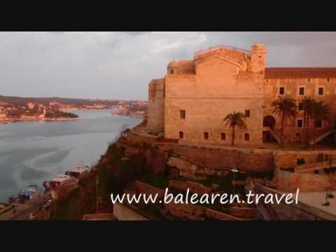 www.balearen.travel - Menorca Mao Mahon Inselhauptstadt Port de Mao Balearen Fort Marlborough