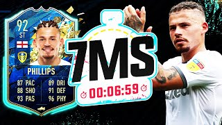 UNREAL STRIKER 92 TOTS KALVIN PHILLIPS 7 MINUTE SQUAD BUILDER!!! - FIFA 20 ULTIMATE TEAM