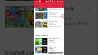 THE NEW VEVO APP HAS BEEN REALESED FOR ANDROID!!!