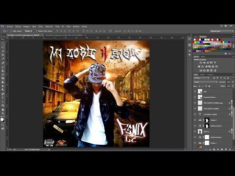 Como crear una Portada de CD con Photoshop CC - FeNix Lc
