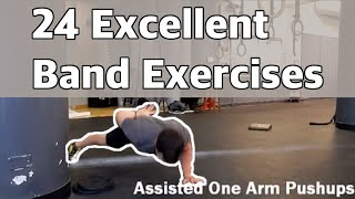 24 excellent band exercises