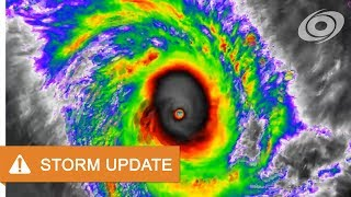 [Australia] Cyclone Marcus continues to intensify - 12am AWST March 22, 2018