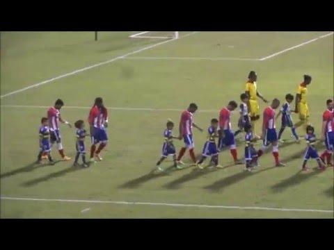 PR vs GUYANA - Copa Caribe 2016