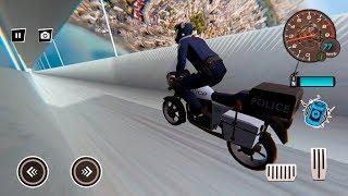 Mega Ramp Police Moto Bike Stunt Master - Gameplay Android game