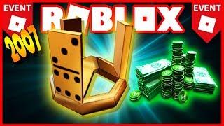 TERCEIRO EVENTO HISTÓRIA ROBLOX (2007)! 🌟 Daba ROBUX grátis!!