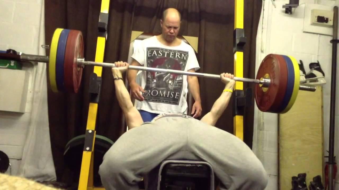 140kg Bench Press Youtube