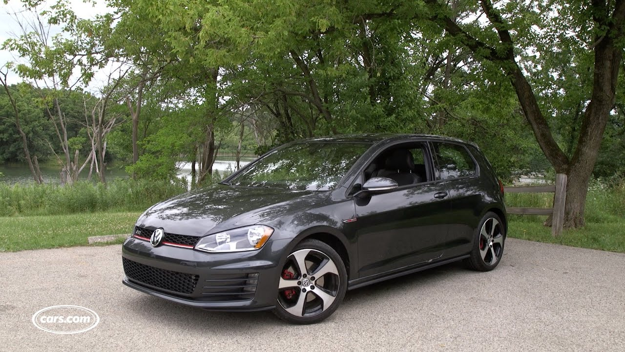 Brilliant 2016 Volkswagen Golf GTI First Drive  YouTube