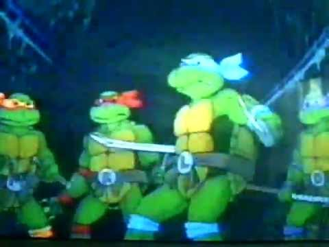 TEENAGE MUTANT NINJA TURTLES 1987 INTRO.
