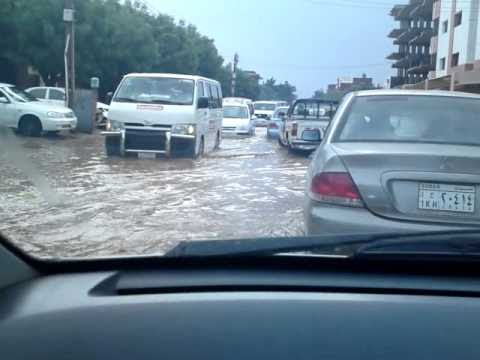 Rain in Khartoum, 26. August 2010, 