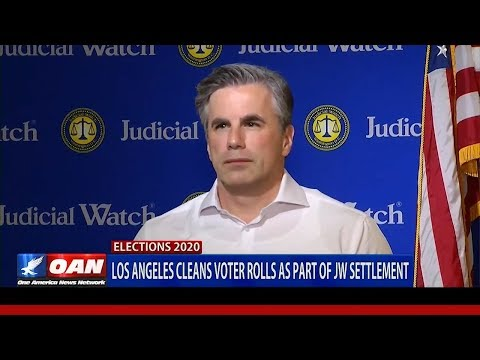 Up to 1.5 MILLION Inactive Voters to be Cleaned from CA Voter Rolls Due to Judicial Watch Lawsuit!
