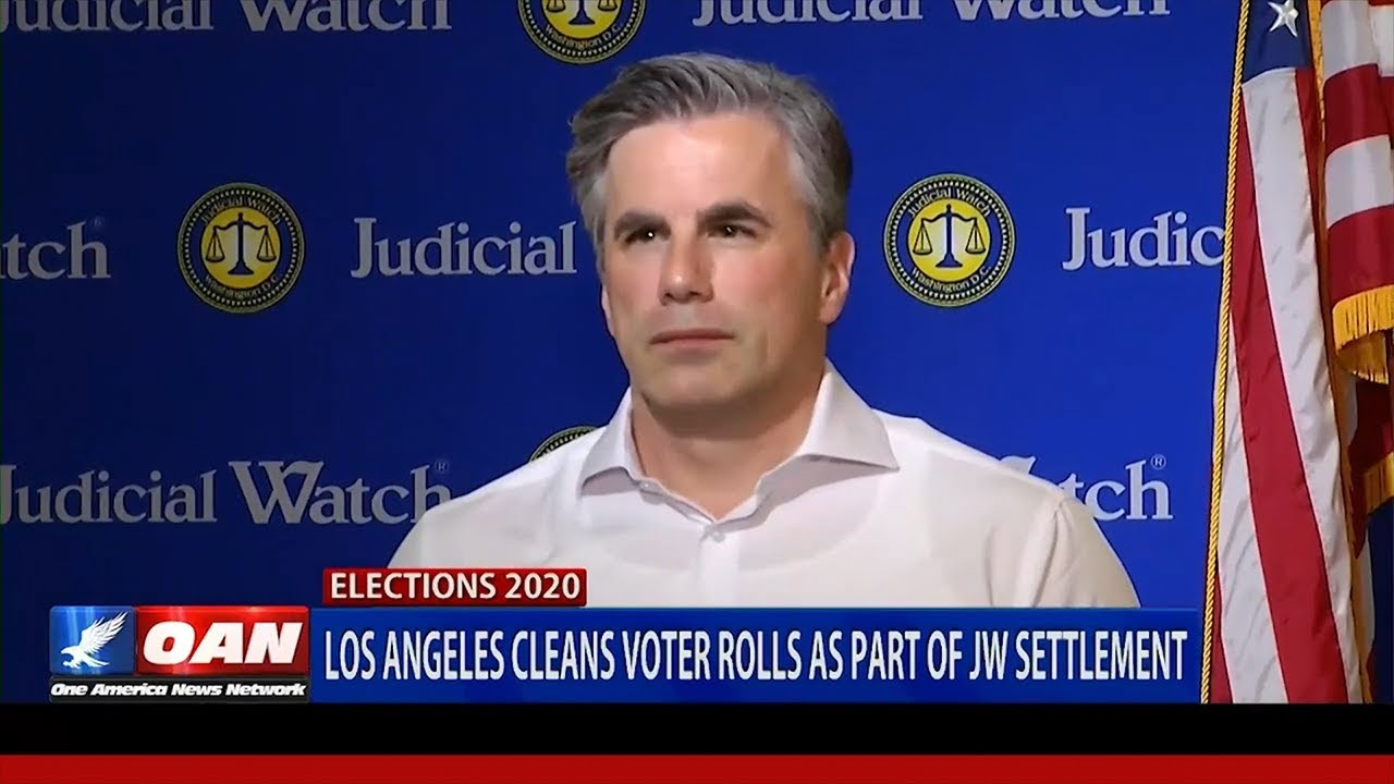 Judicial Watch - Tom Fitton: California Cleaning its Dirty Voters Rolls a 'BIG, Positive Step&#