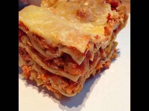 ich koche heute lasagne bolognese bolognese sauce f r lasagne selber machen rezept youtube. Black Bedroom Furniture Sets. Home Design Ideas