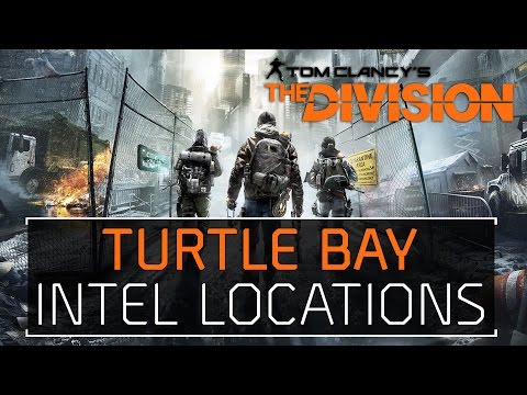 The Division • Turtle Bay Intel Locations Echos, Guides, Phones, Incidents, Agents, & Drones