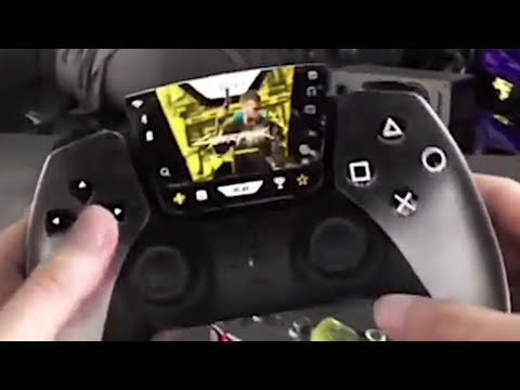 PS5 DualSense Controller Leaked Gameplay Footage (PlayStation 5 Dual Sense)
