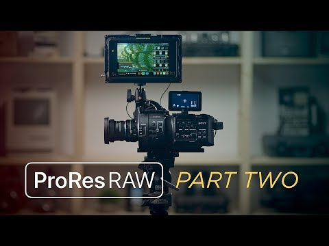 ProRes RAW Part 2: How To Shoot ProRes RAW And The 3 Things You Need