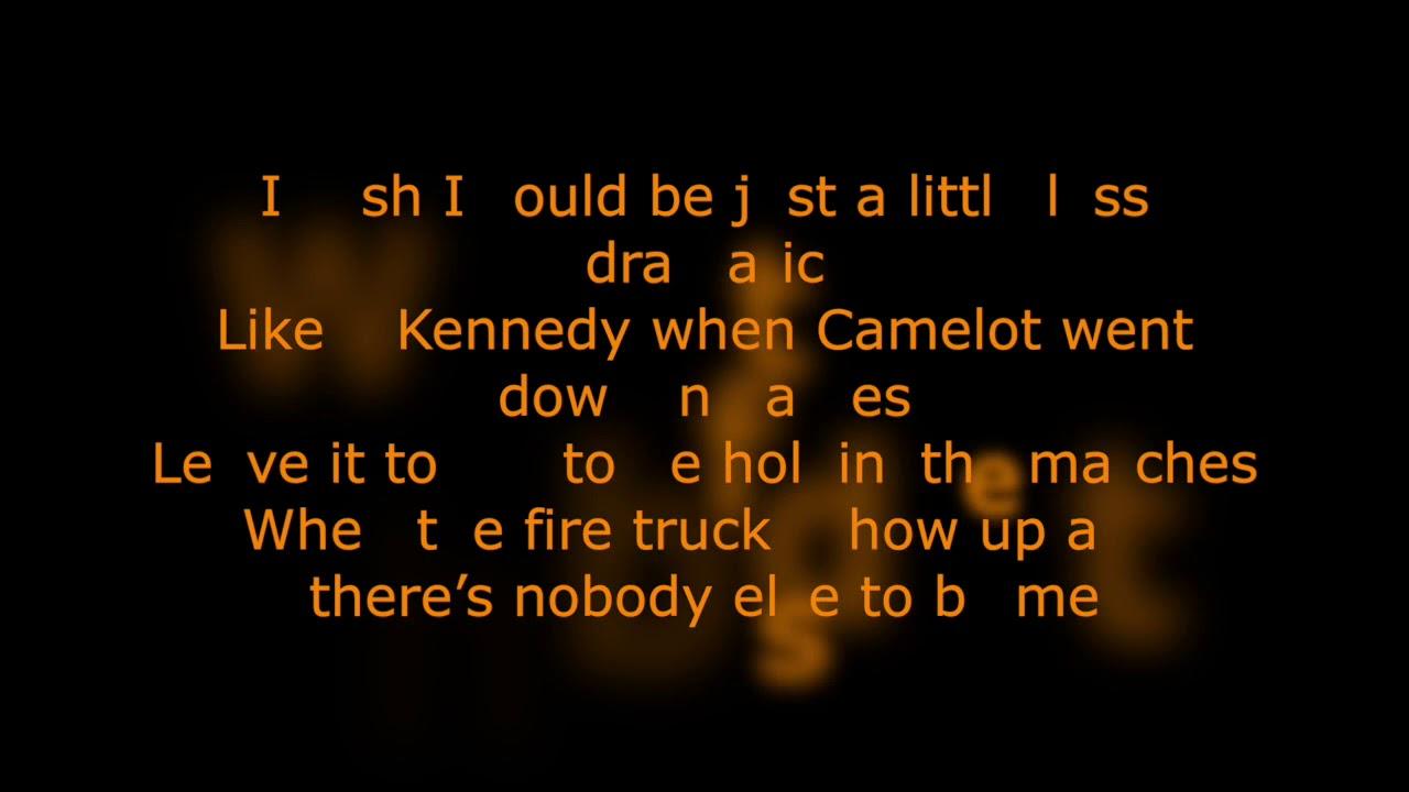 Miranda Lambert Mama S Broken Heart Karaoke Youtube