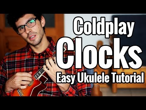 Coldplay - Clocks Ukulele Tutorial - Chords, Tabs And Easy Play Along - Uke Lesson
