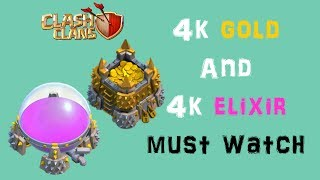 clash of clans - 451898 gold and 458252 elixir