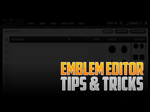 GTA V Crew Emblem Editor (TIPS & TRICKS!)