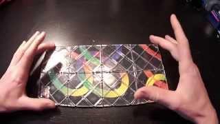 How to solve The Rubik's Magic: Beginners method