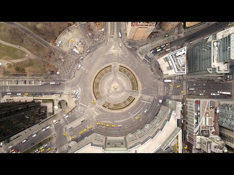 Drone Flying Midtown Manhattan (DJI Mavic pro)