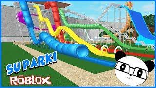 SU PARKINDAN KAYDIK! Panda ile Roblox Su ParkMD WATER PARK