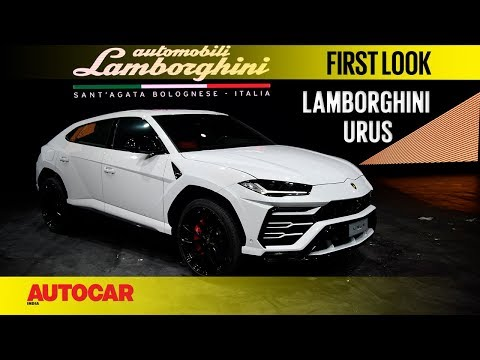 Lamborghini Urus India | First look | Autocar India