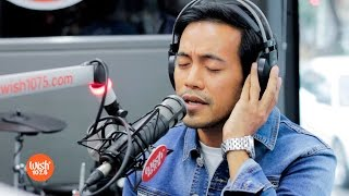 """Jeffrey Hidalgo performs """"Can This Be Love"""" LIVE on Wish 107.5 Bus"""