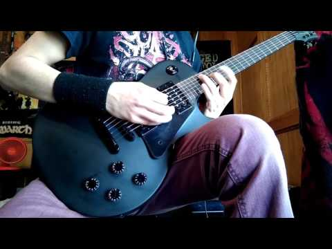 Black Veil Brides - Rebel Love Song. guitar cover (with solo) HD