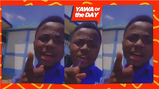 Yawa Of The Day: SHS student thrěatěns President Akufo Addo Over Wassce Exams