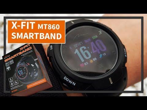 Opaska sportowa X-FIT SMARTBAND MT860 RECENZJA smartwatch