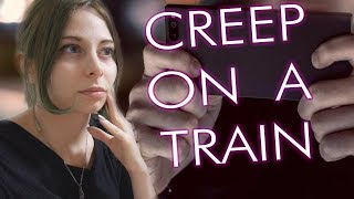 A CREEP TOOK PICTURES UNDER MY SKIRT (Eng subs) | Yuriko Tiger