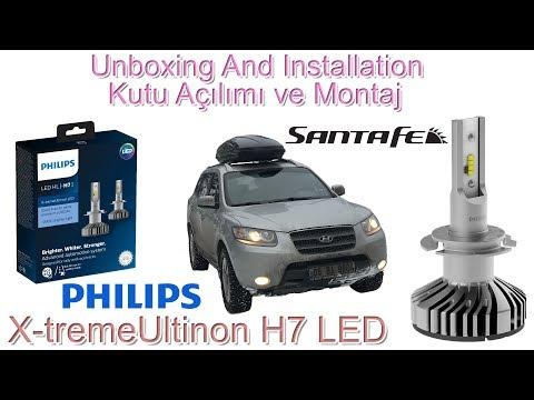 Lampadine H7 Led Philips.Philips H7 X Tremeultinon Led Inceleme Montaj Installation