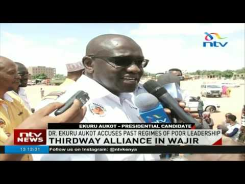 Thirdaway Alliance holds rally in Wajir