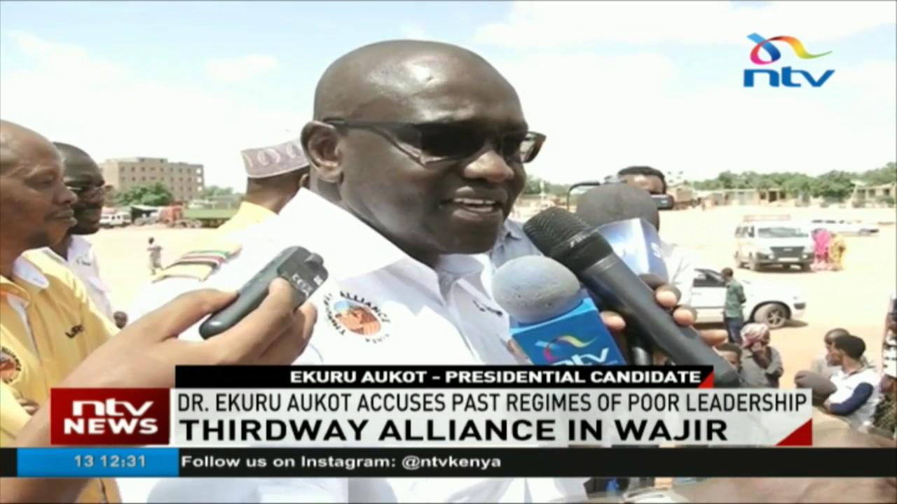 Thirdaway Alliance holds rally in Wajir