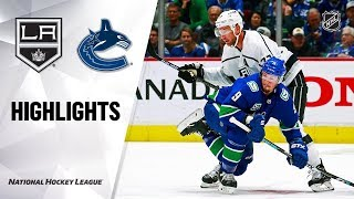 Los Angeles Kings Vs Vancouver Canucks   Oct.09, 2019   Game Highlights   Nhl 2019/20   Обзор матча